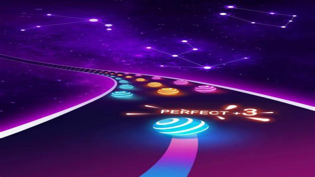 Dancing Road Game Color Ball Online Free Download Mod APK Unlimited Gold Coins unblocked Android run happy 7