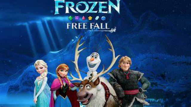 Frozen Free Fall Game Snowball Fight Gameplay Download Mod APK Android Disney unlimited lives and boosters happy 6