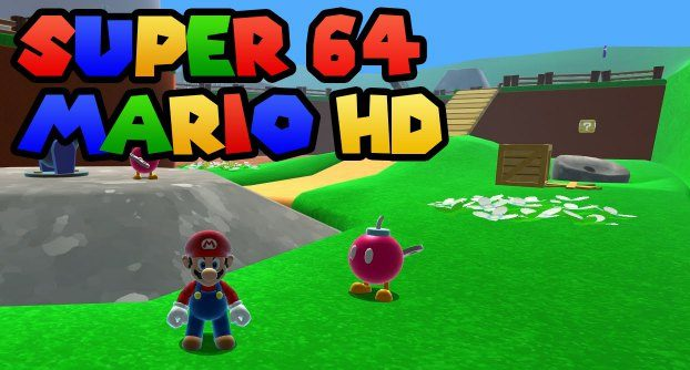 Super Mario 64 HD Apk mod free full download gameplay remake Android unlocked version 1 happy 2020 switch 7
