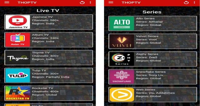 Thoptv Mod Apk Download Free Live Official TV App Tested for Android happy latest version pure 8