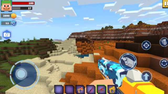 Fire Craft Mod Apk unlimited money and gold download free 3d Android pixel world latest version happy 6 game