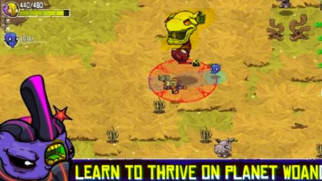 Crashlands Apk Mod unlimited resources money free download Android latest version 8 game