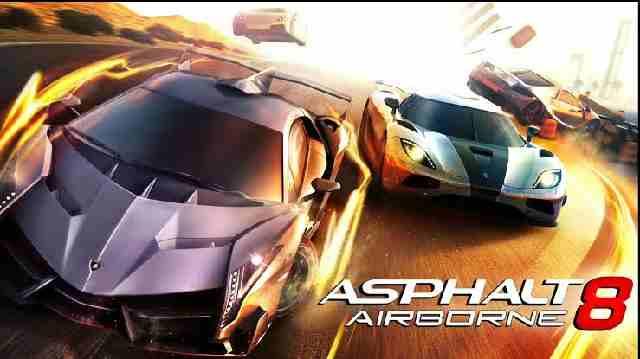 Asphalt 8 game facts
