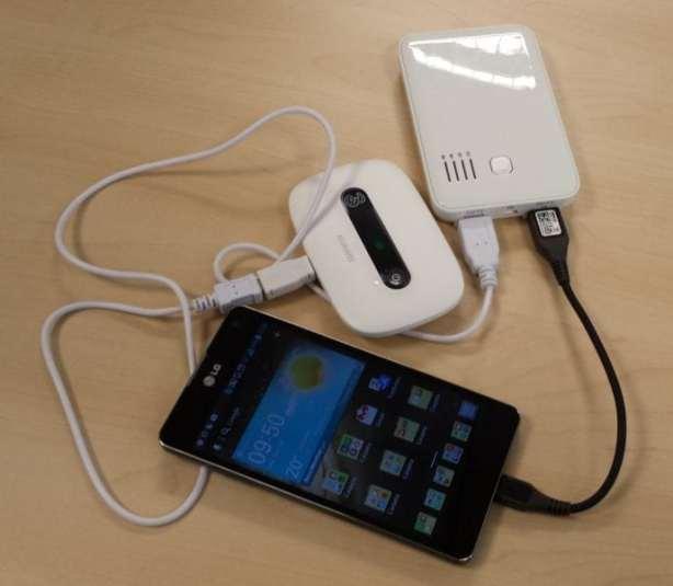 Cargando 2 dispositivos a la vez
