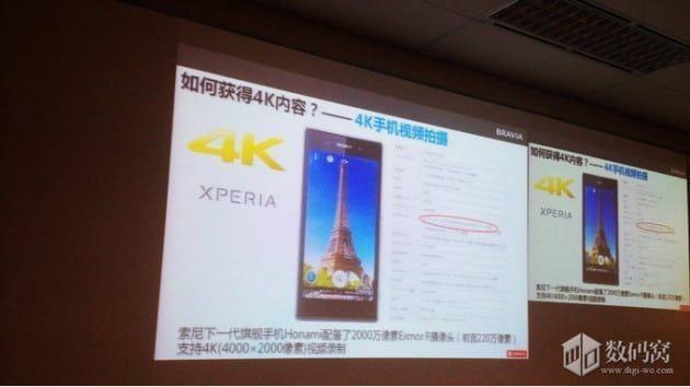 Sony i1 Honami 4k