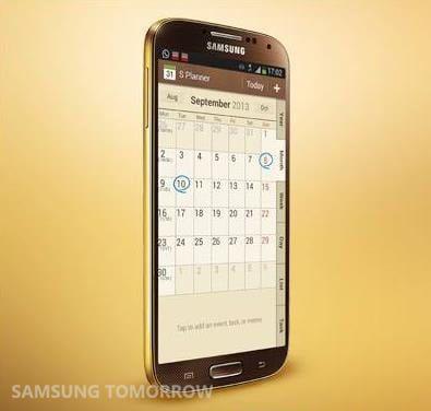 Samsun Galaxy S4 Gold