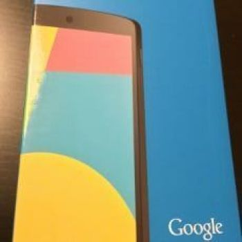 Nexus 5 caja