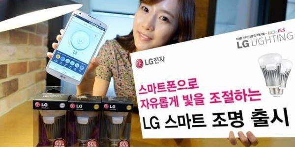 Bombillas inteligentes LED de LG