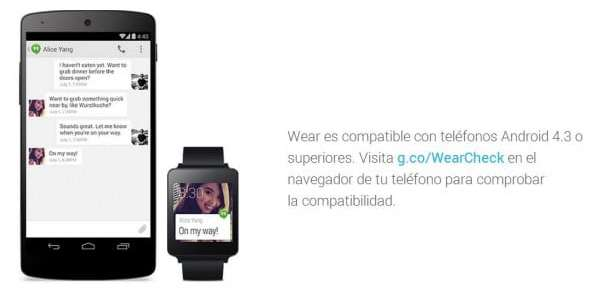 Android Wear Web