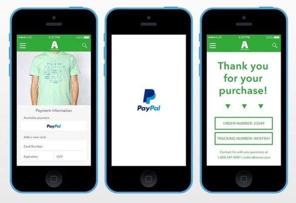 Onetouch Paypal