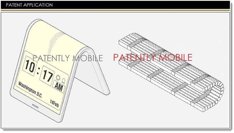 samsung patente pantalla flexible 2