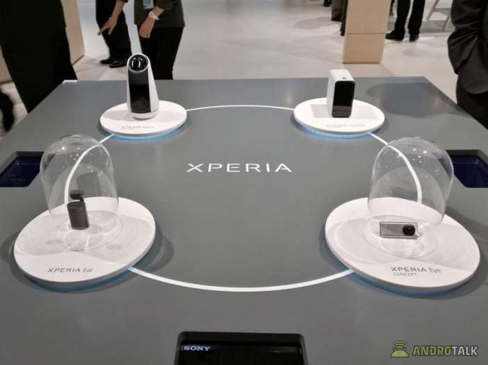 Xperia Ear Eye Projector Agent