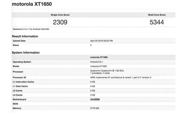 Moto-XT1650