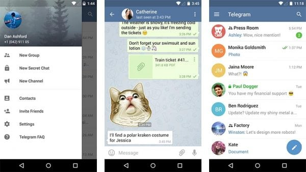 Telegram-screenshot