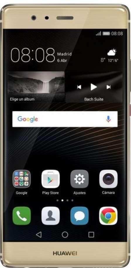 Huawei P9 Plus Gold_frente