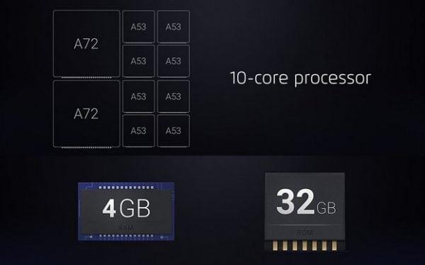 Procesador Meizu MX6