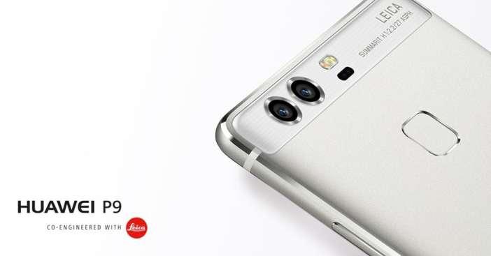 Huawei P9 con Camara Dual Leica