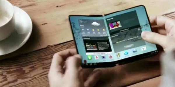 Samsung pantalla plegable