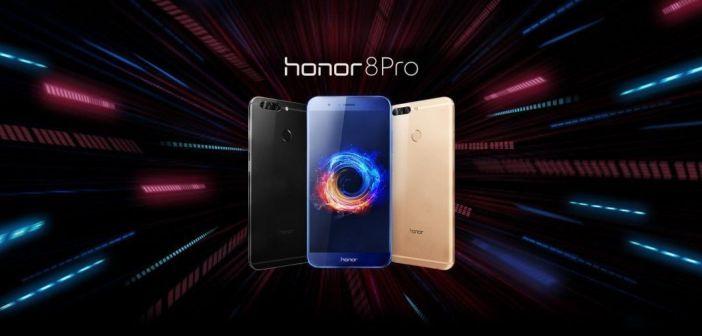 ¡Ojito con el nuevo Honor 8 Pro! SoC Kirim 960, 6GB de RAM, 4000 mAh y sistema de cámara dual