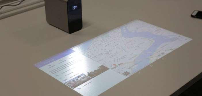Xperia Touch, el proyector de Sony que convierte cualquier superficie en táctil multitouch y basado en Android, ya a la venta en España