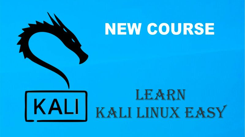 NEW KALI LINUX HACKING COURSE