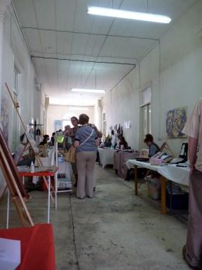 The main craft area