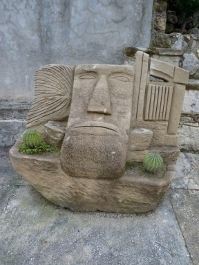 A nico's sculpture