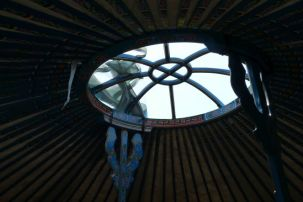 roof light yurt
