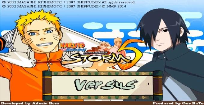 Naruto Ultimate Ninja Storm 5 Mugen Game