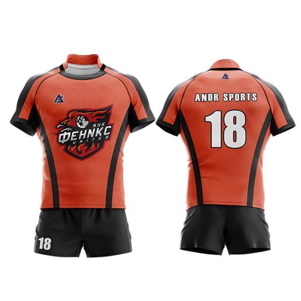 Rugby uniform andr sports RU007