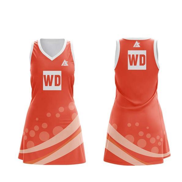 netball uniform & Dresses andr sports NU001