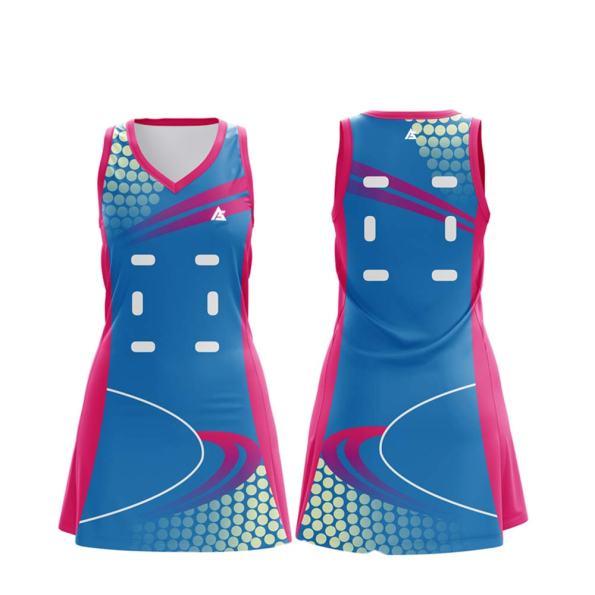 netball uniform & Dresses andr sports NU006