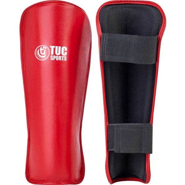 tuc-sports-fusion-shin-guards-Red