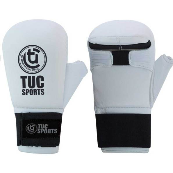tuc-sports-karate-Gloves-With-Thumb-White