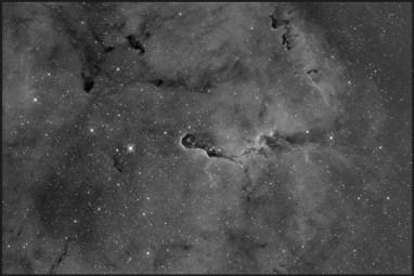 IC 1396, Ha-12x900s bin1