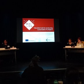 Andrzej Raszyk with a workshop on TransCultural Exchange's 2018 International Conference on Opportunities in the Arts: Exploring New Horizons in Quebec. Trip partly supported by Québec Office in Berlin
