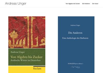 Autor Andreas Unger, Berlin