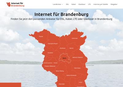 Internet für Brandenburg