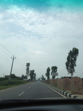 The drive from Delhi NCR on NH8
