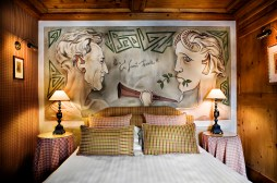 For a hint of vintage, visit the Hotel Mont-Blanc, a place that has played host to a whole swathe of artists, musicians and socialites over the years, and now draws inspiration from those famous guests. And so the artistic Enfants Terribles Suite pays tribute to regular former guest, French poet and filmmaker Jean Cocteau; the Sacha Distel Suite celebrates the actor and his ski champion bride who married in Megève in 1963; while the Liaisons Dangereuses Suite is a nod to the film featuring Gerard Philippe, which includes scenes filmed at Hôtel Mont-Blanc in 1952. www.hotelmontblanc.com