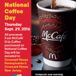 #NationalCoffeeDay with McDonald's McCafe