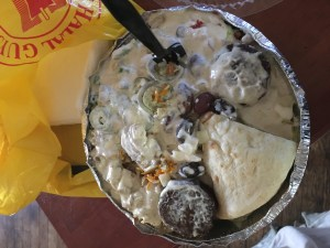 Lunch with Trump: Halal Guys