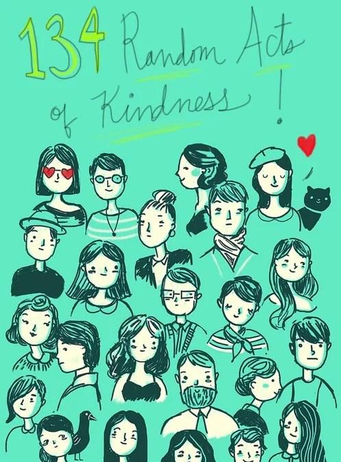 random acts of kindness ideas