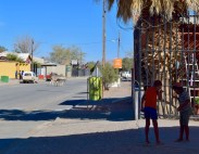 This may not look much but this tiny village in Namibia had a life-saving petrol station. And I'm only mildly exaggerating.