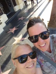 The Walk of Fame, LA
