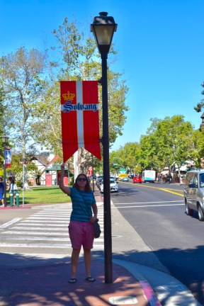 In a Danish town called Solvang