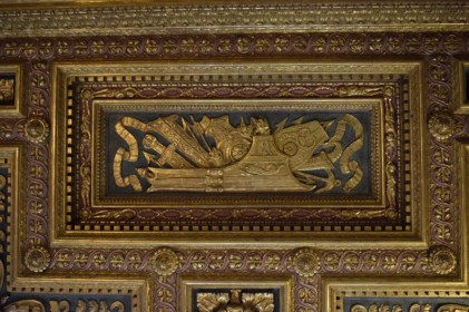 The detail of decorations in Hearst Castle cottages