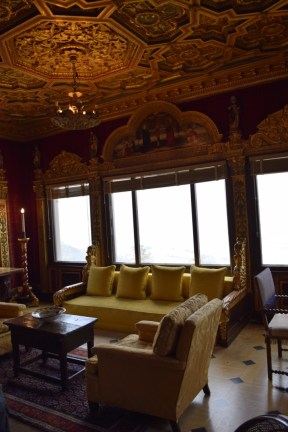 Cottage in Hearst Castle.