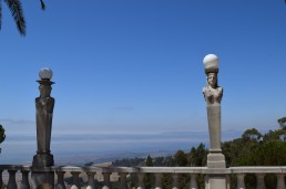 The view from Hearst Castle, CA