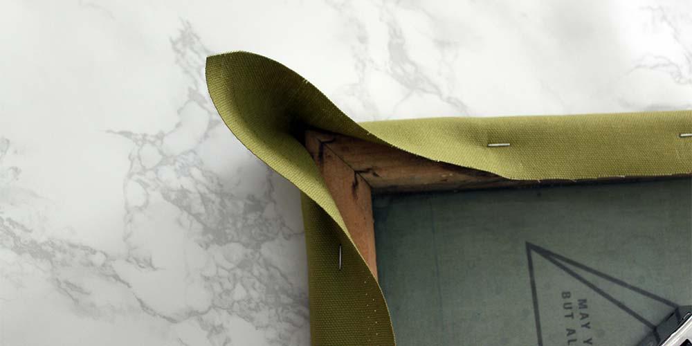 upholstery corners step 1